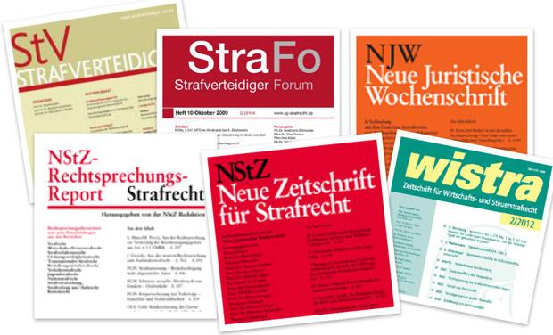 Strafverteidiger Forum NJW StV NStZ NStZ-RR wistra StraFo Rechtsprechungsübersicht Strafrecht