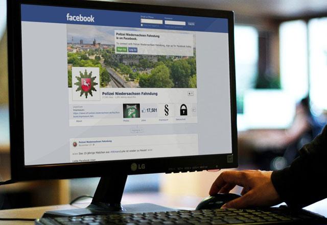 Polizei, Facebook-Fahndung, Fahndung, Facebook, Netzwerk, Niedersachsen