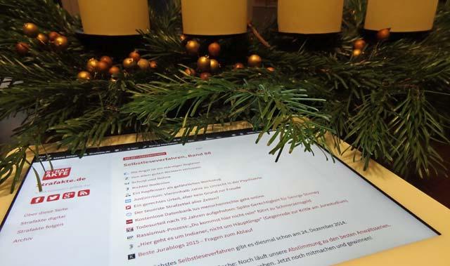Wochenrückblick, Selbstleseverfahren, Advent, Weihnachten, Jura, StPO, StGB, Wochenspiegel